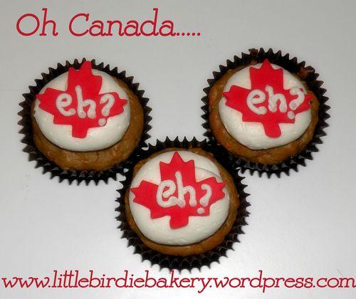 Canadian cupcakes