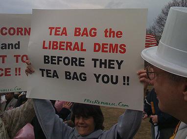 Teabagging