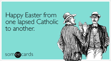Catholic easter eecard