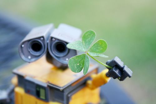 Wall-e wishes you a happy st patricks day