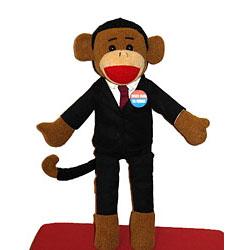 Obama sock monkey