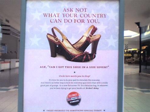 Stimulus shoes