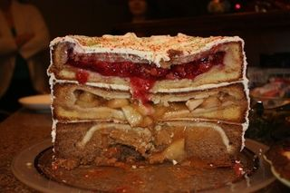 An Epic Cake Made From Pies