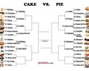 March Madness: The Cake Vs. Pie Tournament - Pie vs cake - Jezebel