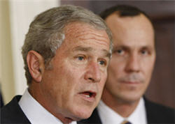 Bush Announces Plan To Ease Holiday Air Travel Delays