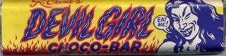 Devil girl choco- bar