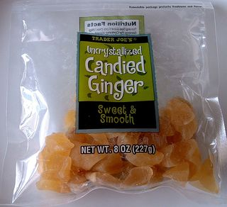 TJ's candied ginger