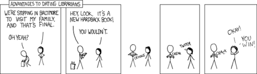 Xkcd on librarians
